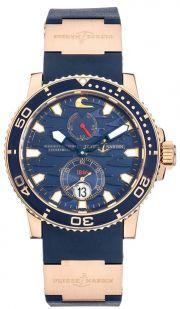 Ulysse Nardin Marine Diver Blue Surf Limited Edition Rose Gold Automatic 70aa9fcfad