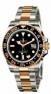 Rolex Rolex GMT Master II acél-arany karóra. Fekete számlapos. 36%  kedvezménnyel csak nálunk !! e8c1e2d2c8