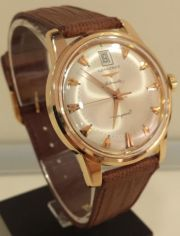 Longines Conquest Heritage 18k Rose Gold Automatic 3fb58197d6