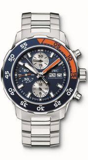 Iwc IWC Aquatimer Chronograph svájci karóra fém szíjjal 83ec6f0195